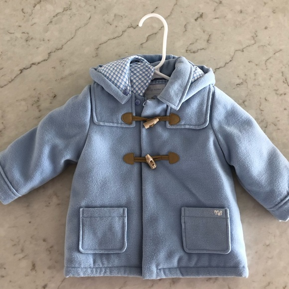 best online fast delivery shop for genuine Baby boy wool Paddington toggle coat